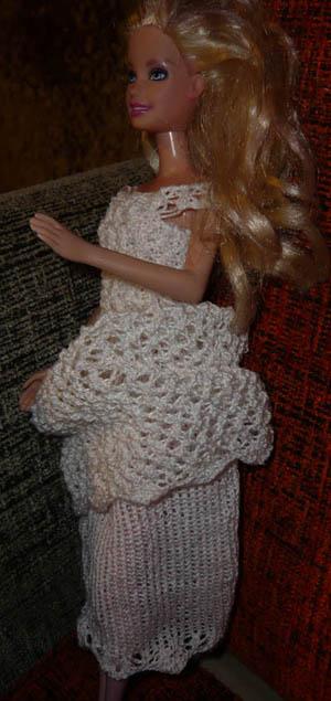 Suknia ślubna Dla Barbie